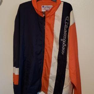 Vintage Champion wind breaker jacket size XL